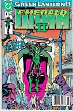 GREEN LANTERN: EMERALD DAWN II #4 1991 DC 'WILL POWER' P4/6 GIFFEN/ JONES..VG