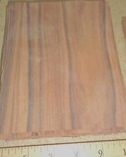 "South American Santos Rosewood wood veneer 5"" x 6"" raw no backing 1/42' thick"