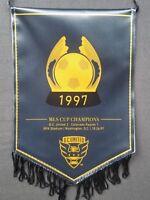 DC UNITED 1997 MLS Championship Pennant Banner Commemorative SGA RFK Soccer RARE