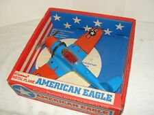 VIntage Hubley WWII Aircraft Carrier Airplane in the Box - Folding WIngs