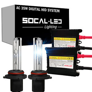 SOCAL-LED AC 35W HB4 9006 HID XENON Kit Digital Slim Ballast for 12 Honda Accord