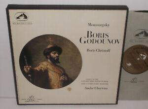 SAN 110-3 Moussorgsky Boris Godounov Paris Conservatoire Cluytens W/A 4LP