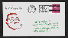 Miracle on 34th Street Santa Claus Special Edt. Collector's Envelope. 1025