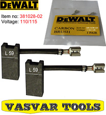 DeWalt Carbon Brushes for DW716EXPS DW717XPS DW708 DW712 DW716E DW716 381028-02