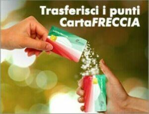 PUNTI CARTAFRECCIA BIGLIETTO TRENITALIA FRECCIABIANCA FRECCIAROSSA BUONO SCONTO