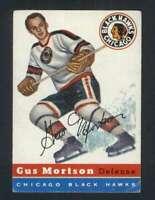 1954-55 Topps #17 Gus Mortson VG/VGEX Blackhawks 108190