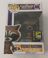 Funko Pop! Marvel Guardians Of The Galaxy Rocket Raccoon 48 Comic Con Exclusive
