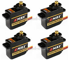 4 x EMAX ES08MAII 12g/ 1.8kg Mini Metal Gear High-Speed 9g Servo Upgrade ES08MA