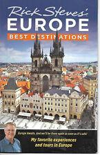 Booklet RICK STEVES' EUROPE, BEST DESTINATIONS