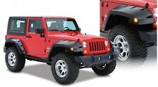 BUSHWACKER MAX COVERAGE FENDER FLARES 07-17 JEEP WRANGLER JK 2 DOOR SET OF 4