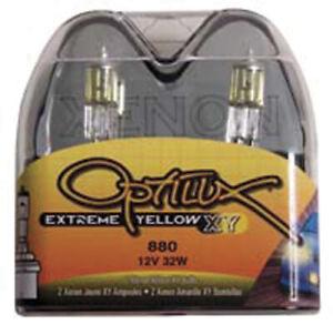 Hella Optilux 880 12V Xenon Yellow XY Bulb - hellaH71071172