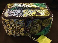 Vera Bradley Caribbean Sea Travel Cosmetic Bag NWT Similar Home and Away Outlet