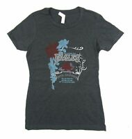 Eagles Hotel California Tour Girls Juniors Heather Grey Shirt New Official