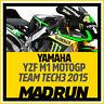 Kit Adesivi Yamaha M1 Team Tech3 MotoGP 2015 - High Quality Decals