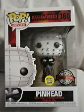 Funko Pop Vinyl Pinhead#360 Glow in the Dark Hellraiser3 New in Box + Protector