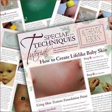 HoW To CrEaTe LiFeLiKe BaBy SkiN TuToRiAL ~ REBORN DOLL SUPPLIES
