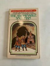 1982 The Abominable Snowman by Ra Montgomery Choose Your Own Adventure 13