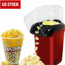 16-Cup Home Air Pop Popcorn Machines Popper Maker Mini Tabletop Party Snack Gift
