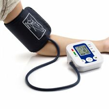 Automatic Digital Arm Cuff Upper Arm Blood Pressure Monitor LCD Machine Device