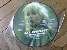 BLONDIE San Fran Offenders LP Picture disque Live Old waldorf San Francisco 77