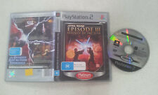 Star Wars Episode III 3 Revenge of The Sith PS2 PAL Version