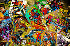 1 Box Lot of 100 comics Marvel,DC, Other Publishers NO duplication free shipping