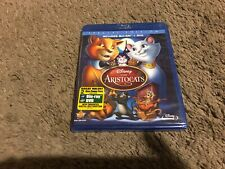The Aristocats (Blu-ray/DVD, 2012, 2-Disc Set, Special Edition) NEW