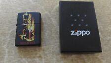 BRAND NEW Zippo House of Blues Music Lighter Matte Black w/ Case Mint in Box!!!!