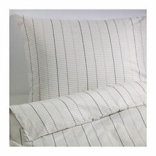 Ikea Stockholm Single Quilt Cover & pillowcases - white, grey, beige