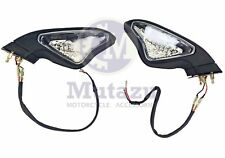 Rear view Mirrors LED Turn Signal Blinker for DUCATI 848 1098 1198 1098S/R 1198R