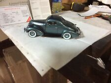 Danbury Mint 1937 Studebaker Dictator Coupe Limited Edition 2535/5000