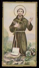santino-holy card ediz. EB  n.2137 S.FRANCESCO D'ASSISI