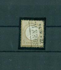 Gestempelte Briefmarken aus dem deutschen Reich (1872-1874)