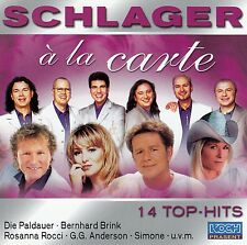 SCHLAGER A LA CARTE - 14 TOP HITS / CD - TOP-ZUSTAND