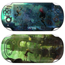 Skin Decal Sticker For PS Vita Original PCH-1000 Series Console Gravity Rush #01