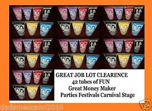 joblot Colour FX Mixed Hair Gel color ideal parties 43 tubes MONEY MAKER L👀K