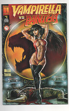 VAMPIRELLA vs PANTHA #1 (1997) Signed by Mark Texeira DF COA 30/250  NM+