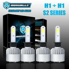 4X H1 LED Headlight Bulb Kit Total 4000W Hi-Low Beam 6500K for 2003-2008 Mazda 6