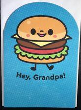 Hallmark Greeting Card Grandpa Father's Day Cheeseburger