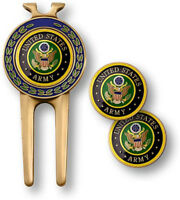 NEW U.S. Army Golf Divot Tool and Ball Marker Set.