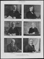 1900 Antique Print - PORTRAITS Lansdowne Wyndham Grove Wood Knox Wilson (300)