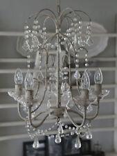 41-Lampen im Shabby-Stil aus Metall mit 60 cm Breite
