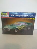 Revell-Monogram 1968 Shelby Mustang 2n1 Model Kit New Factory Sealed