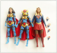 "DC Direct  Collectibles SUPERGIRL  Superman BIG BARDA Action Figure 6"" LOOSE"