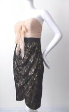 MONSOON LIMITED EDITION Strapless Lace Sheath Dress Size 10  US 6  rrp $345.00