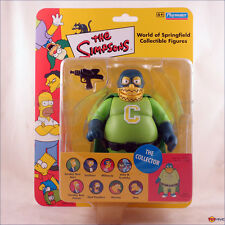 The Simpsons World of Springfield The Collector rare UK exclusive action figure