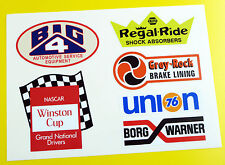 HOT ROD Retro vintage Sticker Decal Ford Chevy Drag Race Speed TOOL BOX (SET 3)
