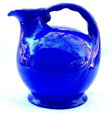 Metlox Poppytrail Cobalt Blue Pottery Ball Pitcher 245
