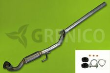 VW POLO 9N 1.2 1.2 12V Berline 5 portes 2001-2007 + attaches Tuyau avant