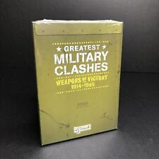 Greatest Military Clashes, Weapons of Victory, 1914 - 1989, 3 dvd set Brand New